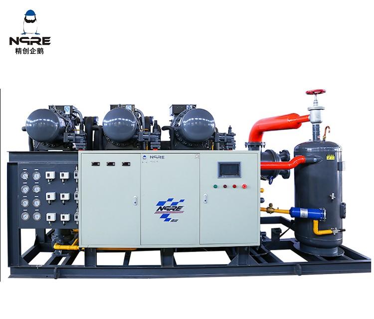 SRC240三并联水冷冷凝机组(70HP*3三并联)