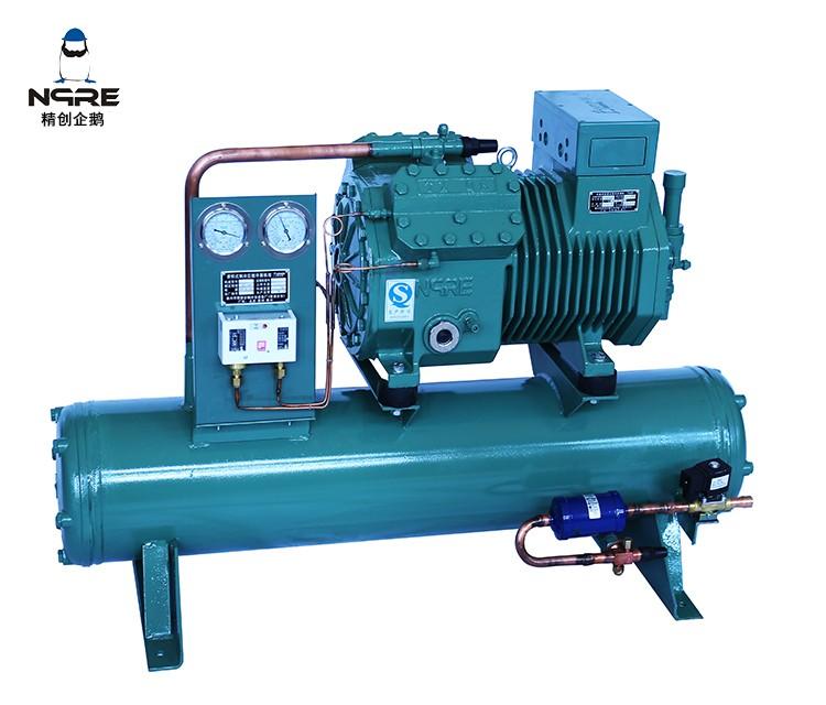 4VB8水冷式活塞冷凝机组(8HP)