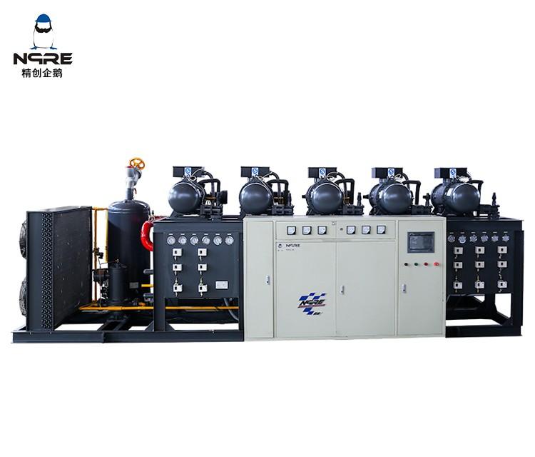SRC140五并联螺杆冷凝机组(40HP*5五并联)