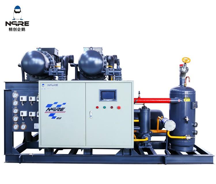 SRC140两并联螺杆冷凝机组(40HP*2两并联)