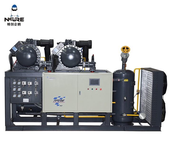 SRC420 两并联螺杆冷凝机组(120HP*2两并联)