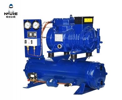 B503水冷式活塞冷凝机组(5HP)