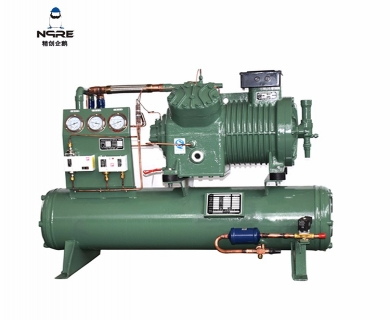 4VB12水冷式活塞冷凝机组(12HP)