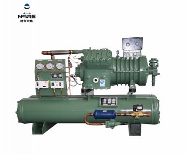 4VB25水冷式活塞冷凝机组(25HP)