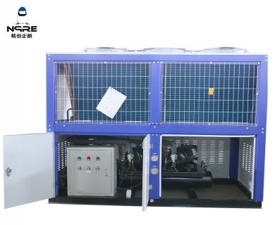 NJJZF200-OD箱式风冷涡旋冷凝机组(10HP*2两并联)