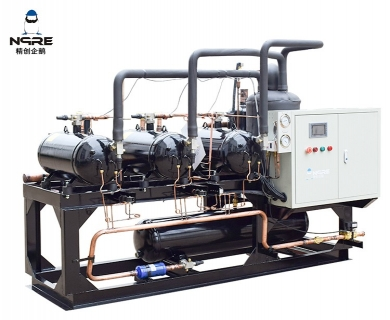 NJJZS600-OD敞开式冷水冷凝机组(20HP*3三并联)