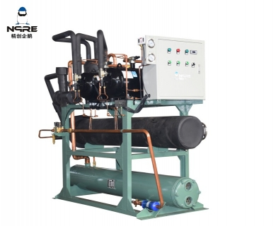 NJJZS300-OD敞开式冷水冷凝机组(15HP*2两并联)