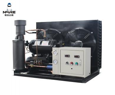 NJJZF100-OD敞开式低温风冷涡旋冷凝机组(10HP)