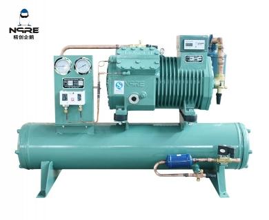 B503-4水冷式活塞冷凝机组(5HP)